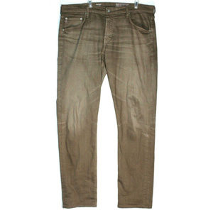 AG Mens Tellis Modern Slim Brown Jeans Size 36